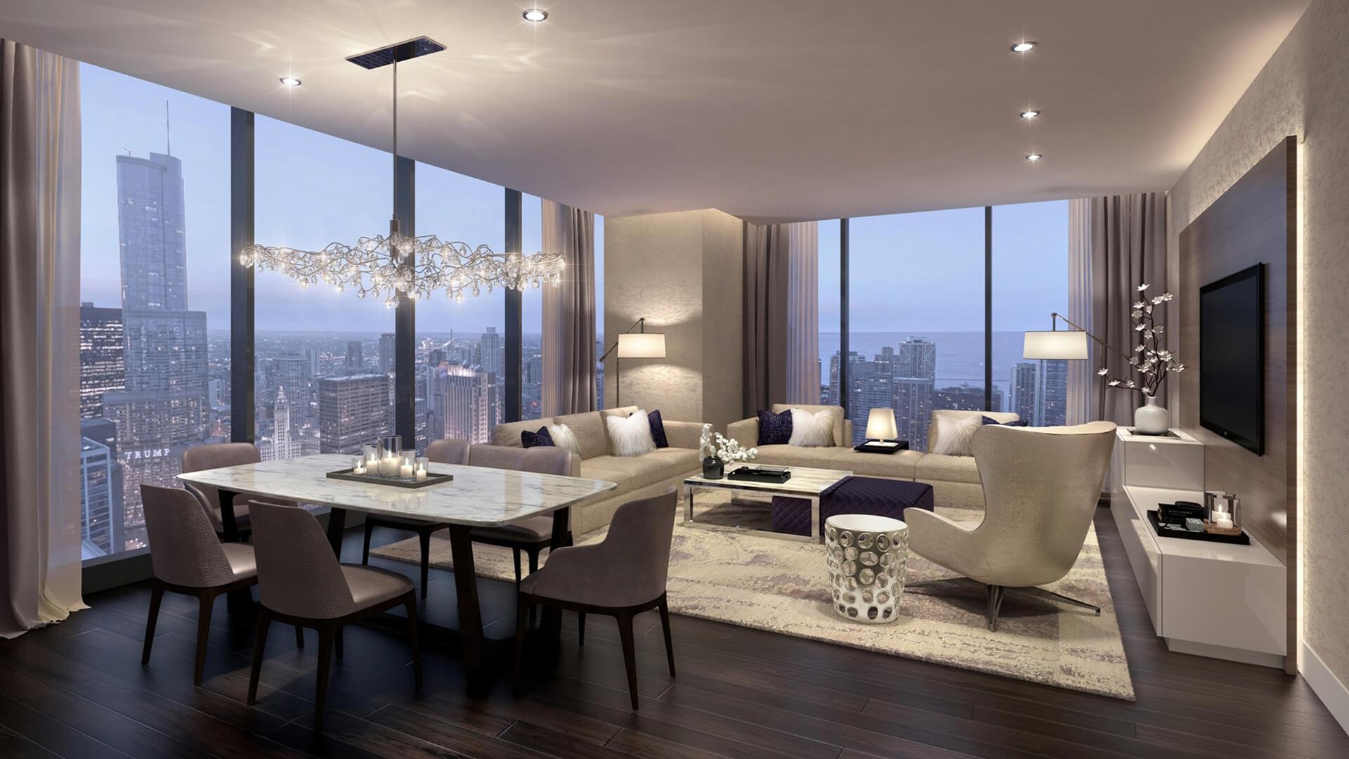 Apartamento en venta en Dubai, EAU, 3 dormitorios, 149 m2, № 23893 – foto 1