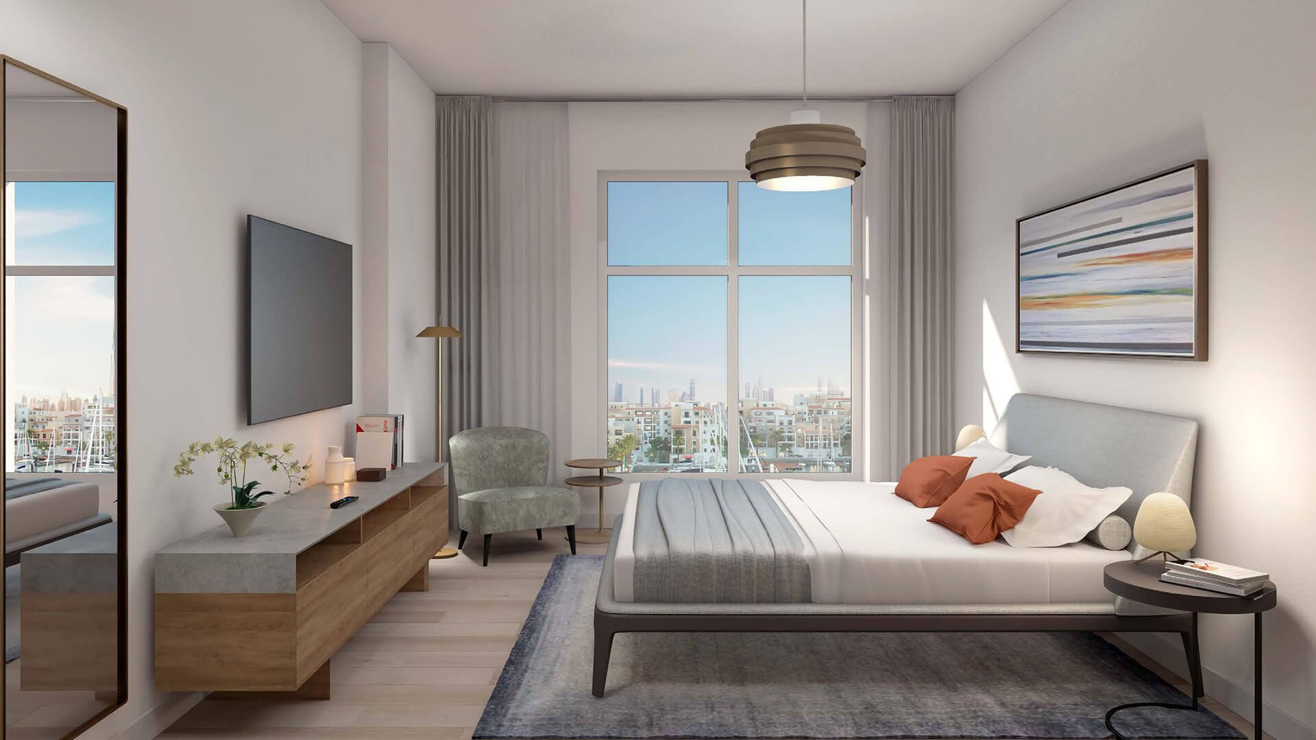 Apartamento en venta en Dubai, EAU, 1 dormitorio, 75 m2, № 23879 – foto 5