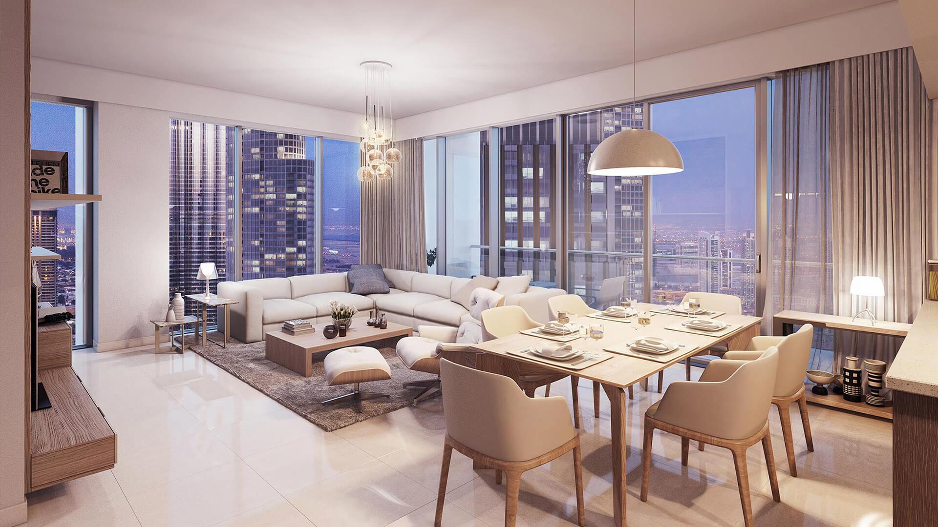 Apartamento en venta en Dubai, EAU, 1 dormitorio, 96 m2, № 23885 – foto 4