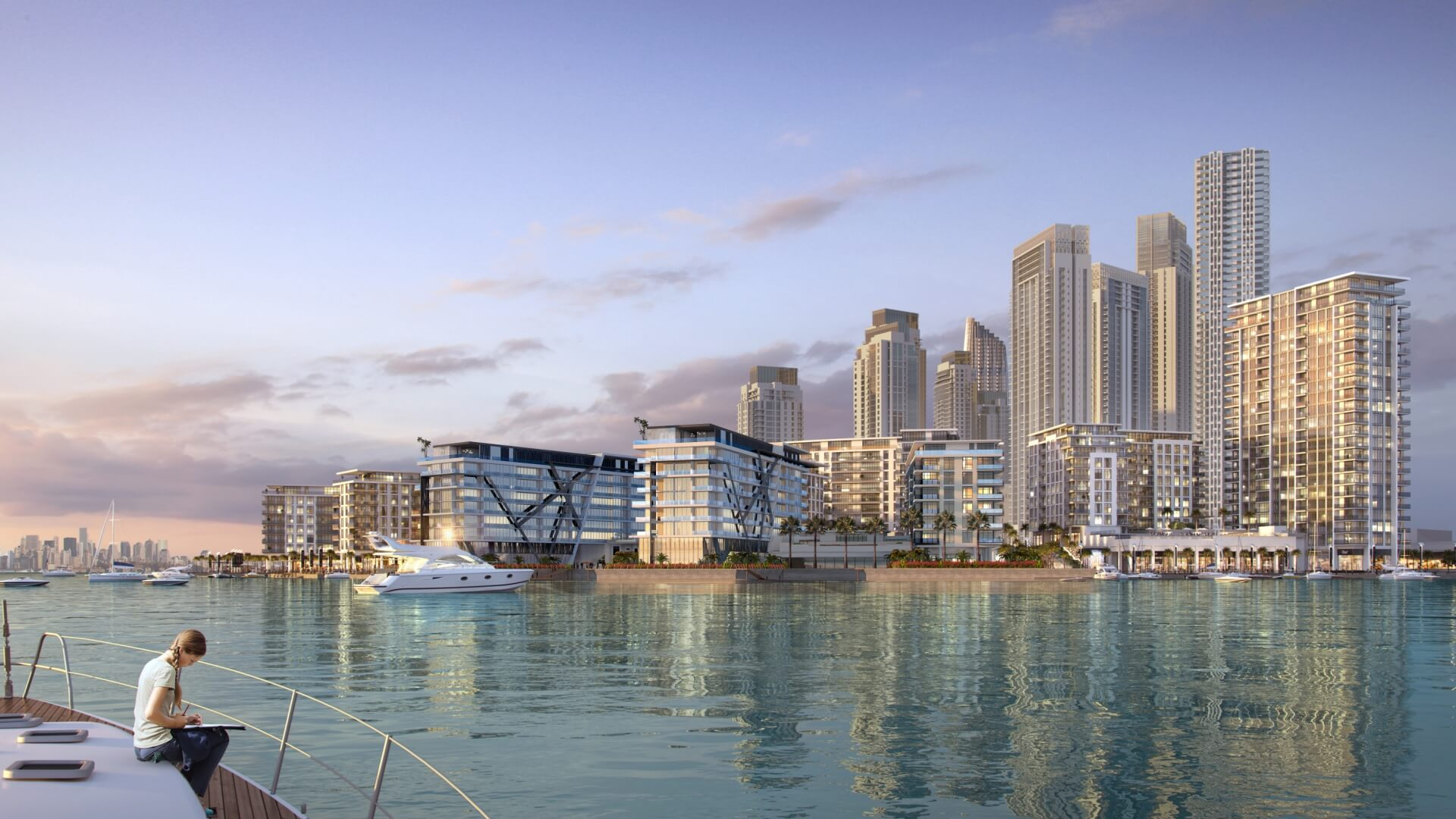 THE COVE, Dubai Creek Harbour (The Lagoons), EAU – foto 4