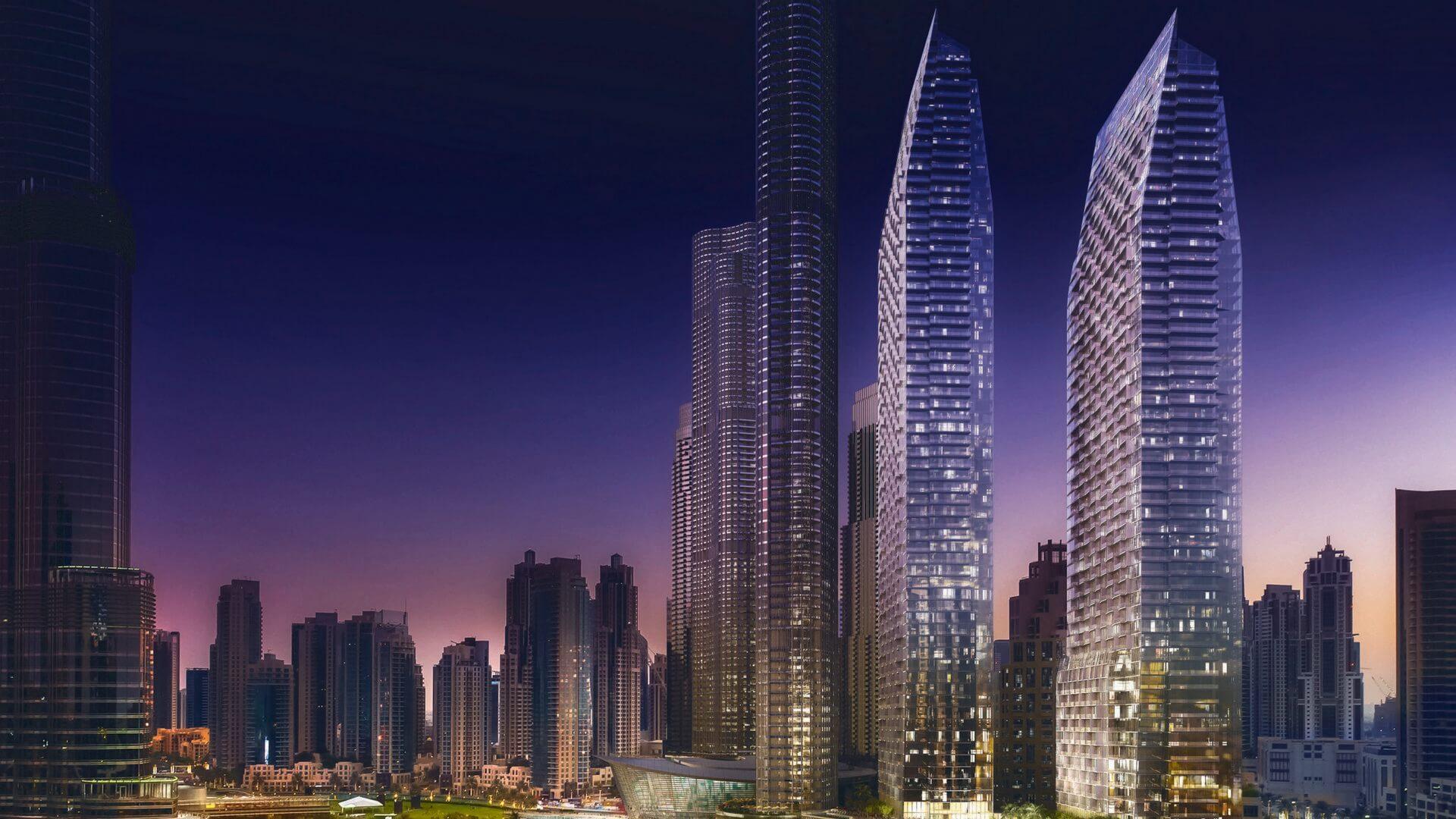 THE ADDRESS RESIDENCES DUBAI OPERA, Downtown Dubai, EAU – foto 1