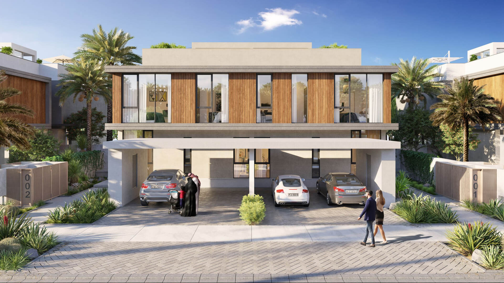 Villa en venta en Dubai, EAU, 3 dormitorios, 290 m2, № 24061 – foto 3