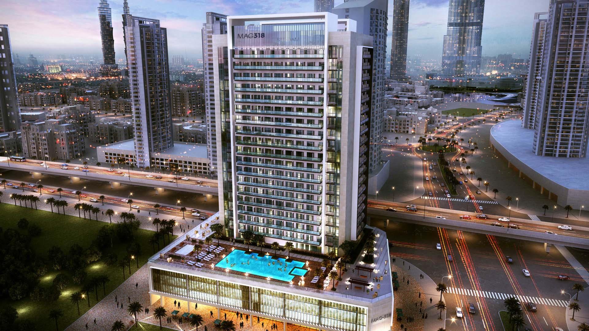 Apartamento en venta en Dubai, EAU, 1 dormitorio, 81 m2, № 24110 – foto 2