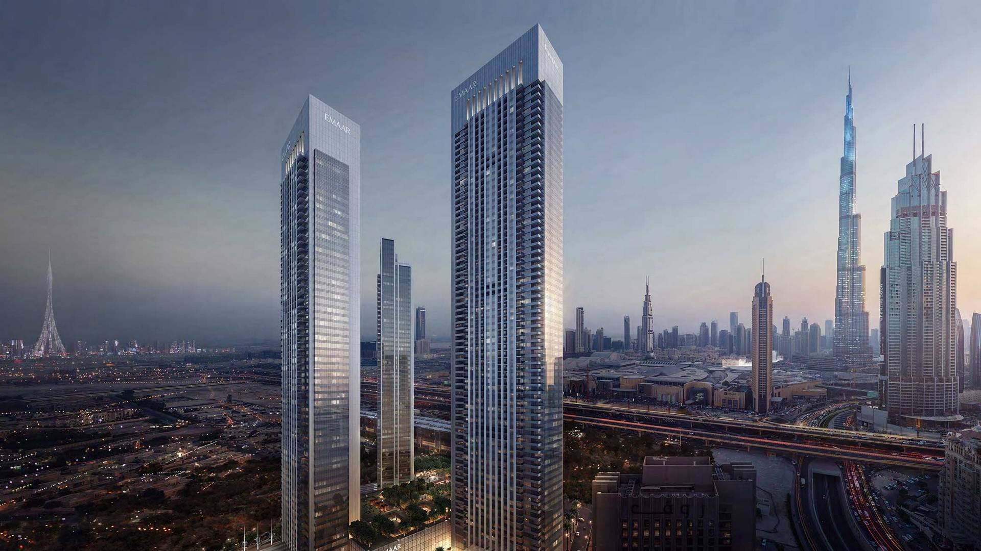 Apartamento en venta en Dubai, EAU, 1 dormitorio, 67 m2, № 24077 – foto 2