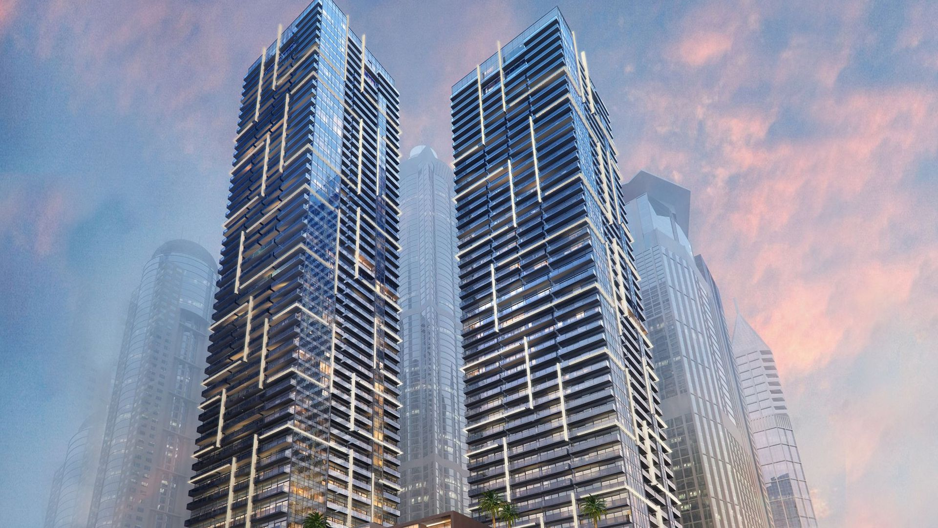 Apartamento en venta en Dubai, EAU, 1 dormitorio, 71 m2, № 23852 – foto 6