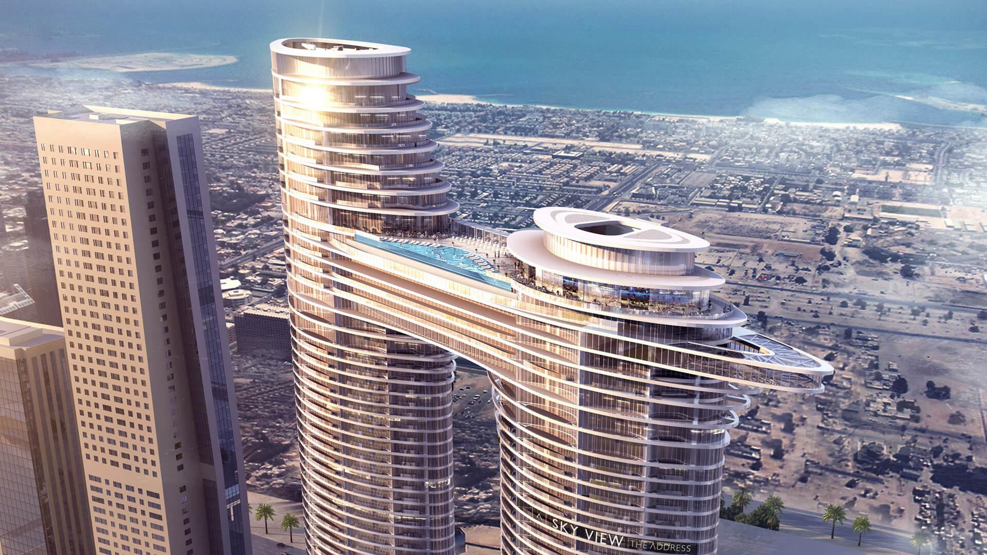 THE ADDRESS SKY VIEW TOWERS HOTEL APARTMENTS, Downtown Dubai, EAU – foto 1