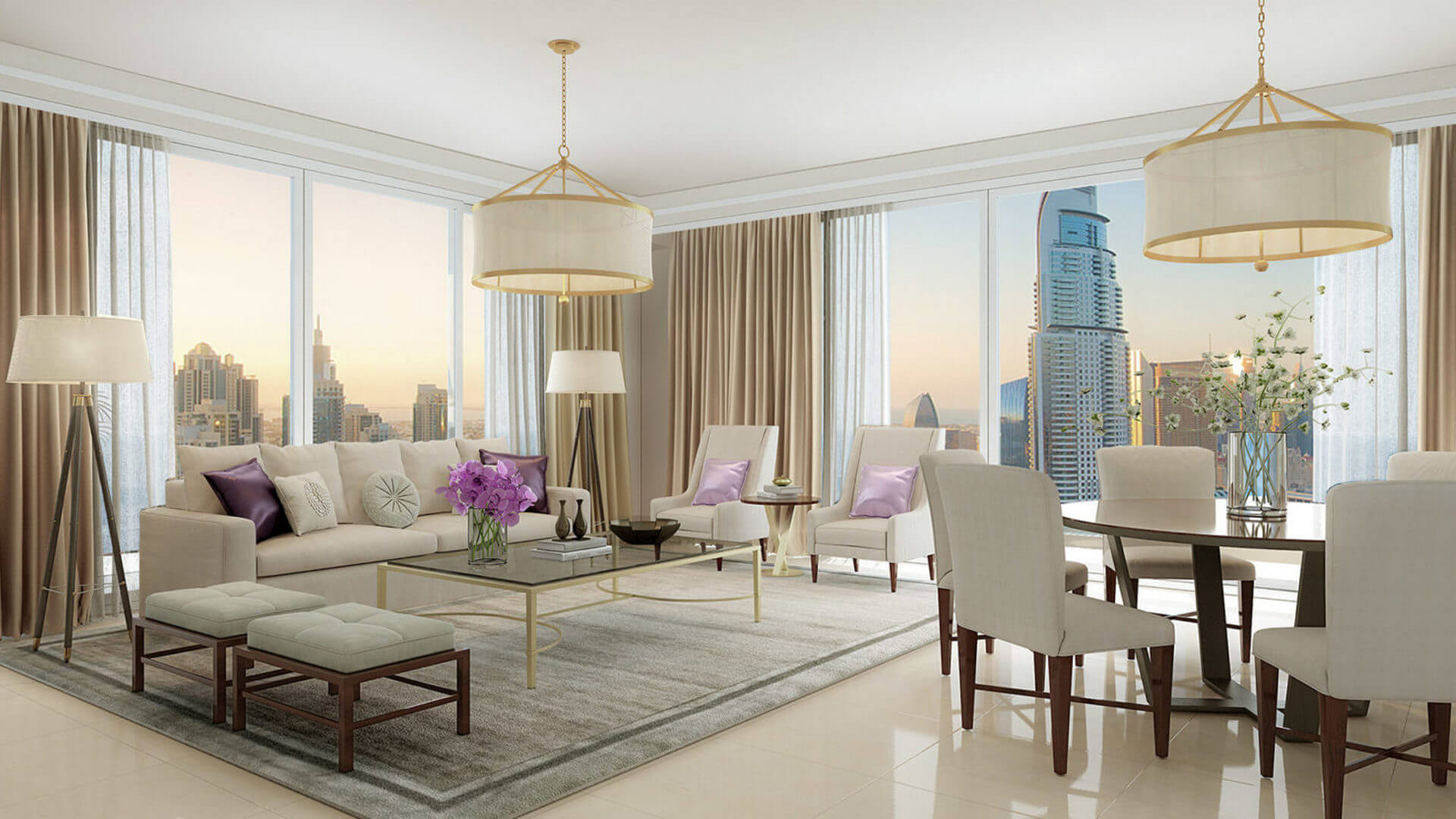 Apartamento en venta en Dubai, EAU, 1 dormitorio, 91 m2, № 24093 – foto 4