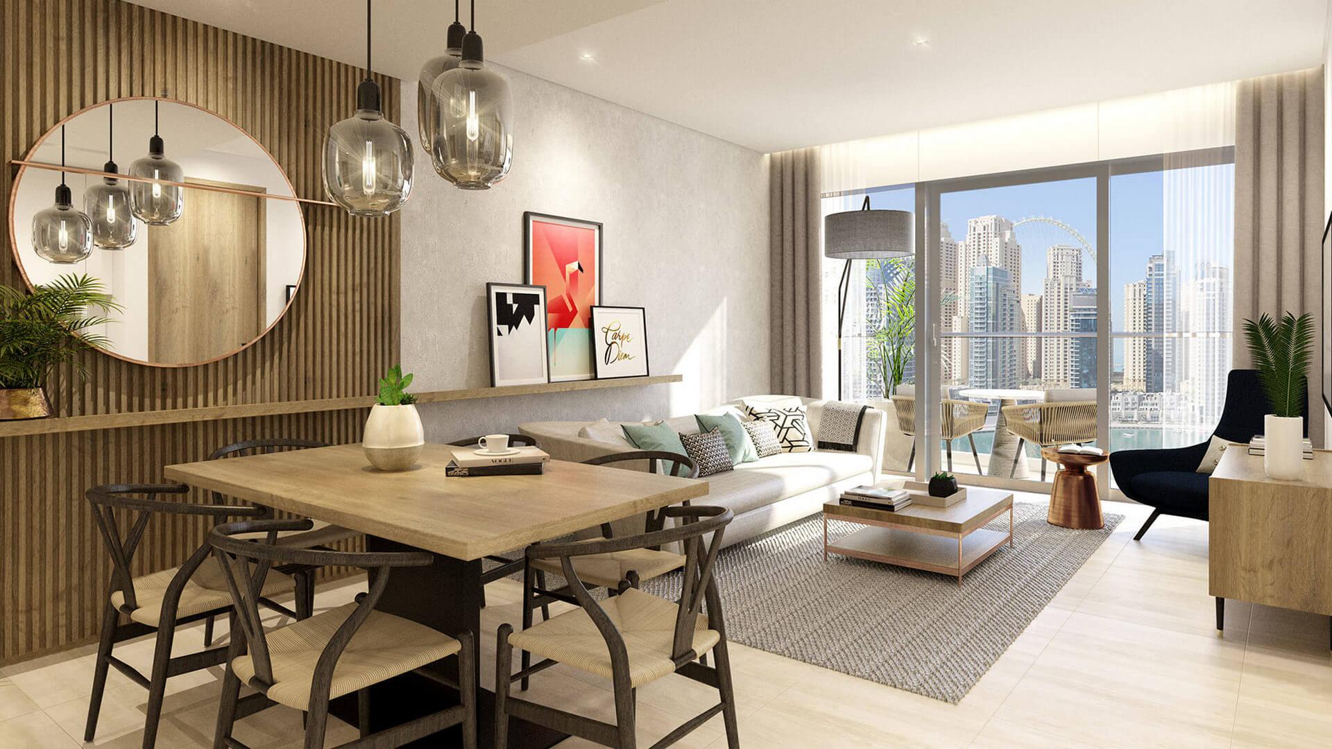 Apartamento en venta en Dubai, EAU, 1 dormitorio, 69 m2, № 24101 – foto 1