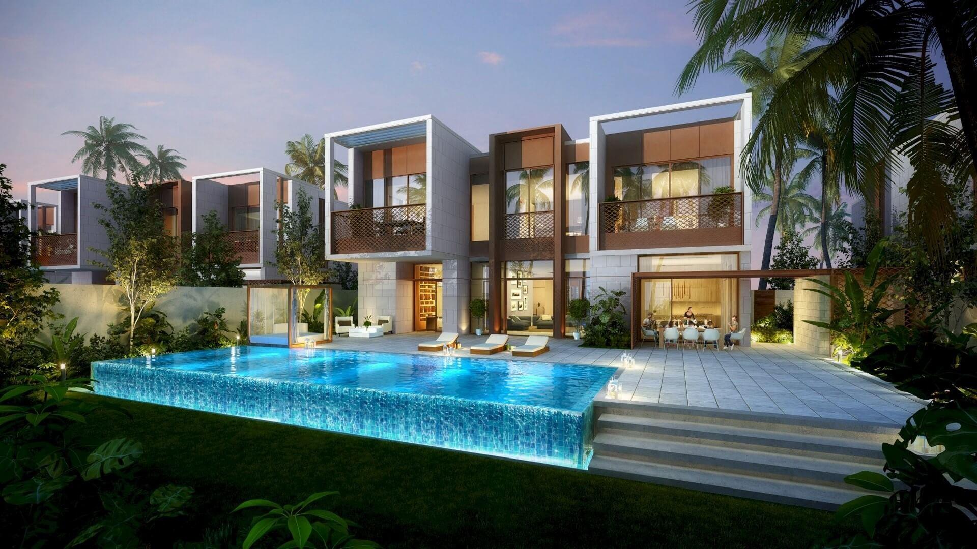 AMALFI VILLAS, Jumeirah Bay Island, Dubai, EAU – foto 1