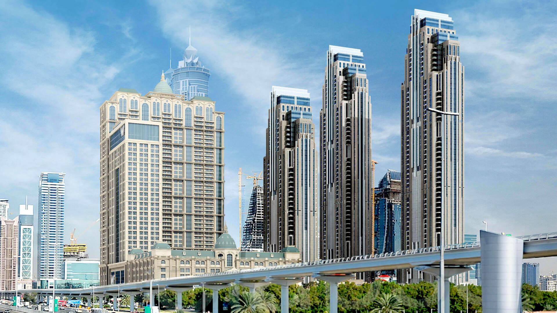 Apartamento en venta en Dubai, EAU, 1 dormitorio, 75 m2, № 24063 – foto 3