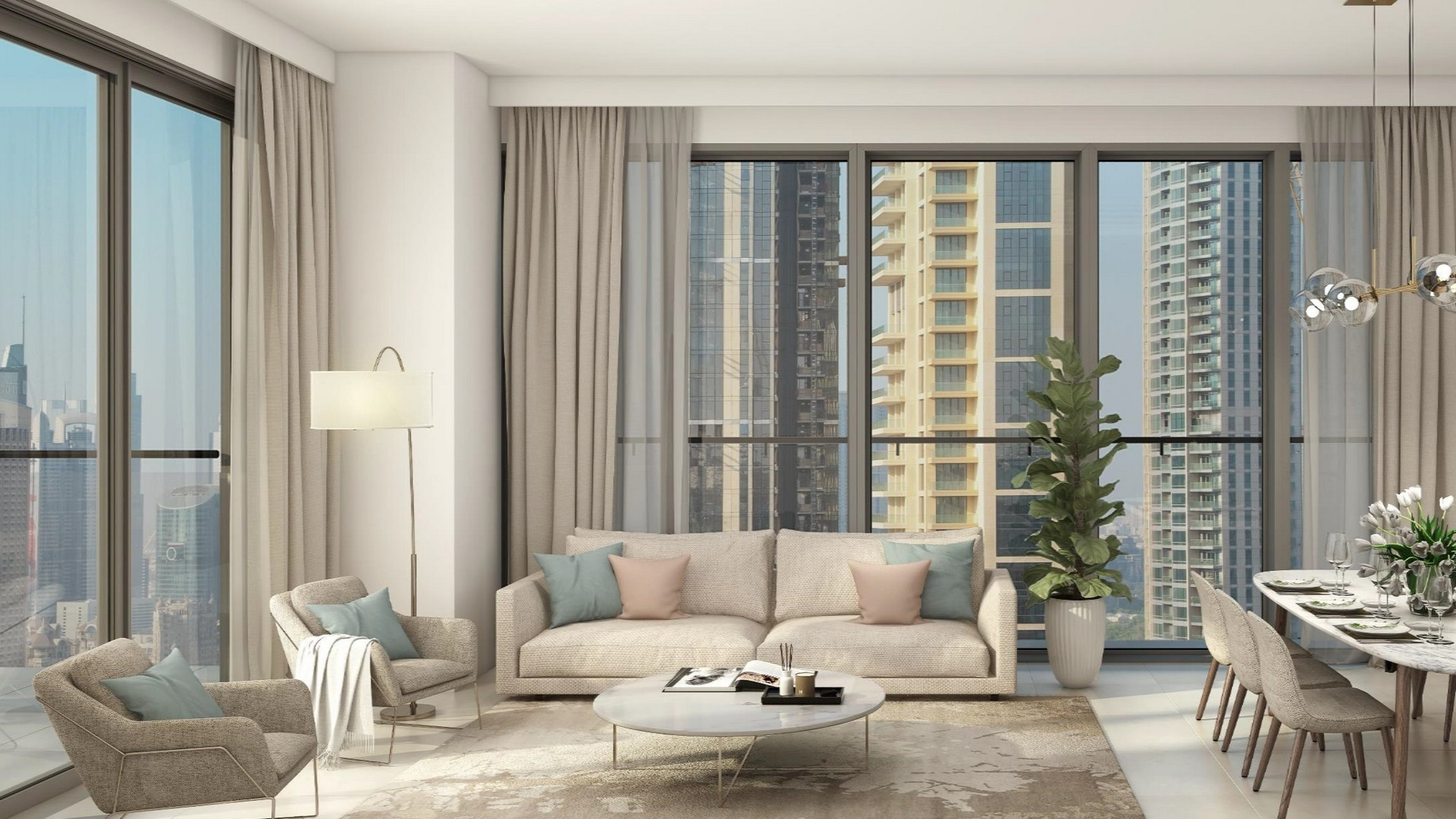 Apartamento en venta en Dubai, EAU, 3 dormitorios, 122 m2, № 24082 – foto 1