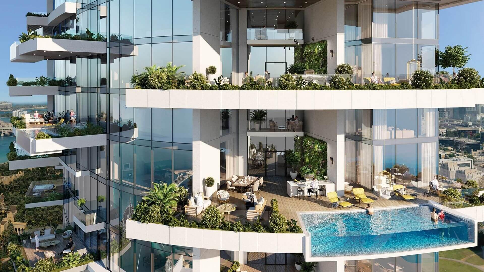 Apartamento en venta en Dubai, EAU, 1 dormitorio, 81 m2, № 24569 – foto 7