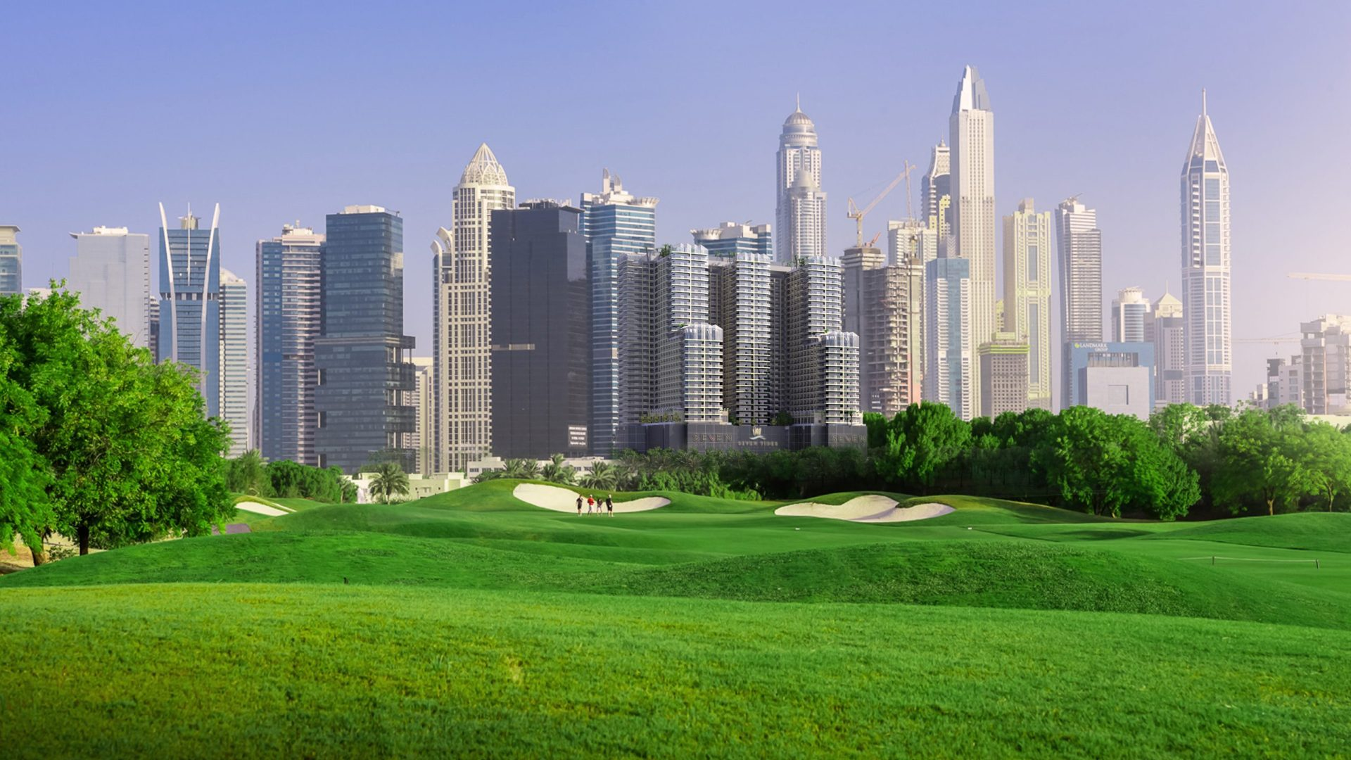 GOLF VIEWS SEVEN CITY, Jumeirah Lake Towers, Dubai, EAU – foto 9