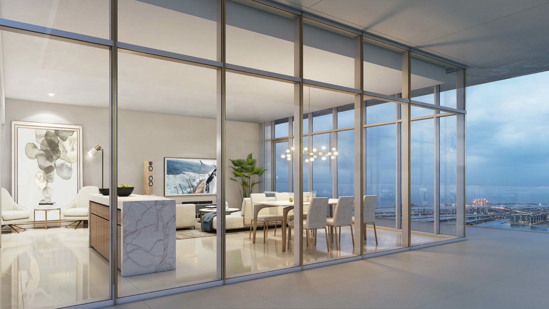 Apartamento en venta en Dubai, EAU, 1 dormitorio, 69 m2, № 24317 – foto 1