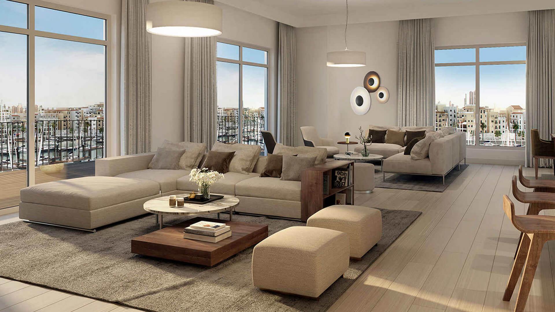Apartamento en venta en Dubai, EAU, 2 dormitorios, 1374 m2, № 24261 – foto 1