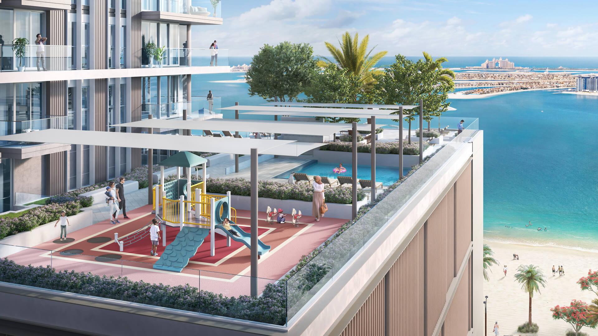 BEACH ISLE, Emaar beachfront, Dubai, EAU – foto 1