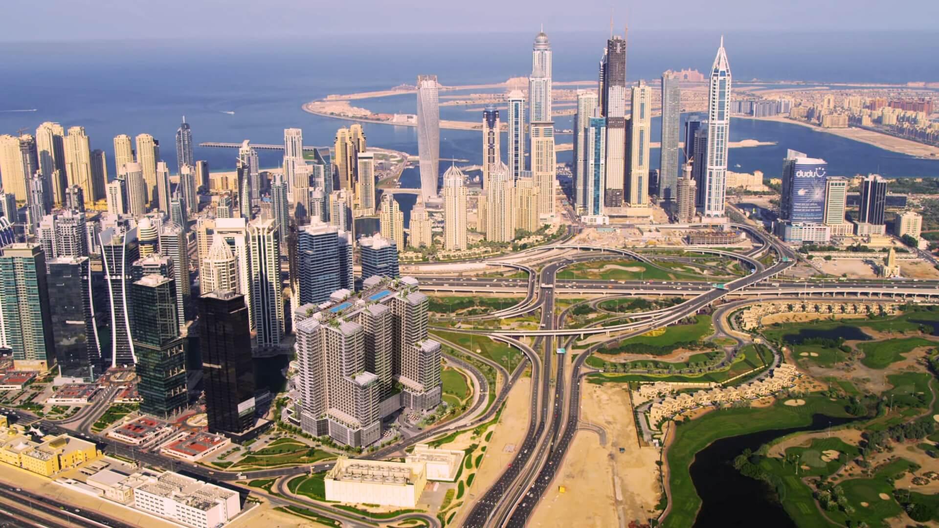 GOLF VIEWS SEVEN CITY, Jumeirah Lake Towers, Dubai, EAU – foto 7