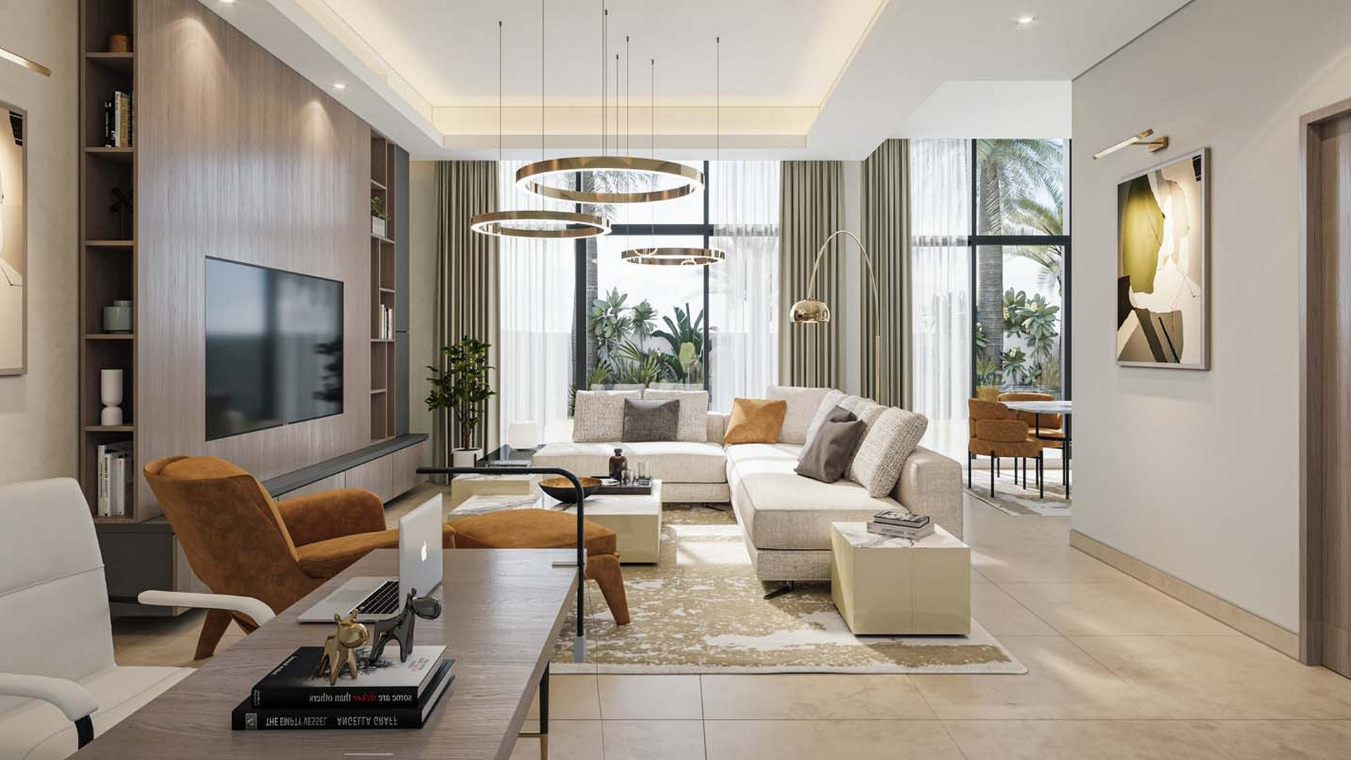 Adosado en venta en Dubai, EAU, 4 dormitorios, 457 m2, № 24532 – foto 1