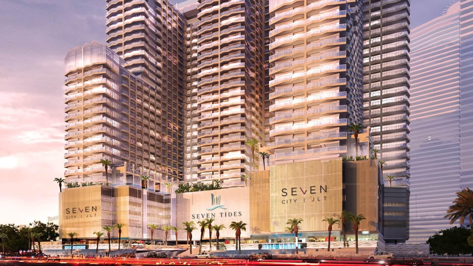 GOLF VIEWS SEVEN CITY, Jumeirah Lake Towers, Dubai, EAU – foto 1