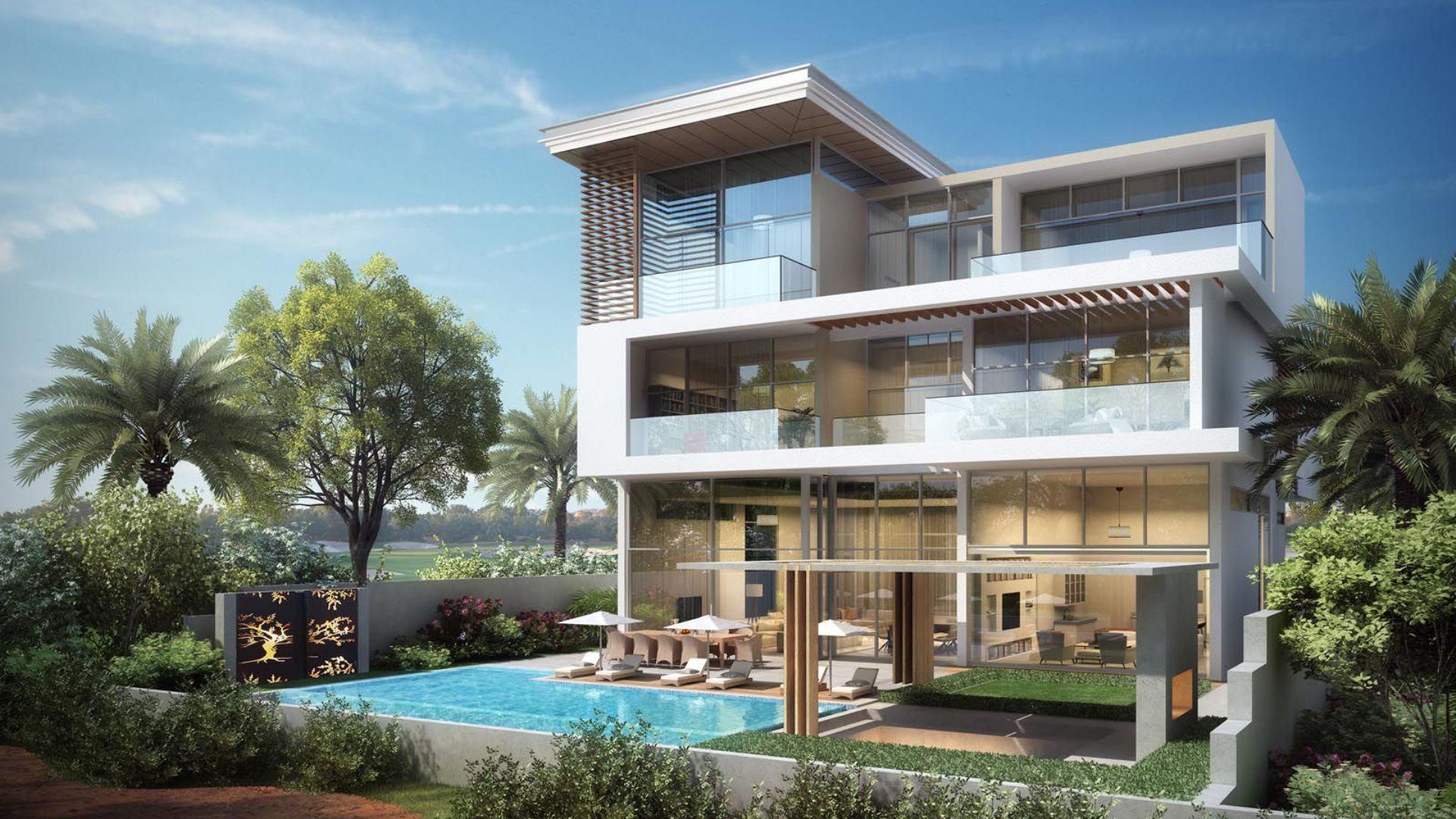 Villa en venta en Dubai, EAU, 6 dormitorios, 1117 m2, № 24250 – foto 1