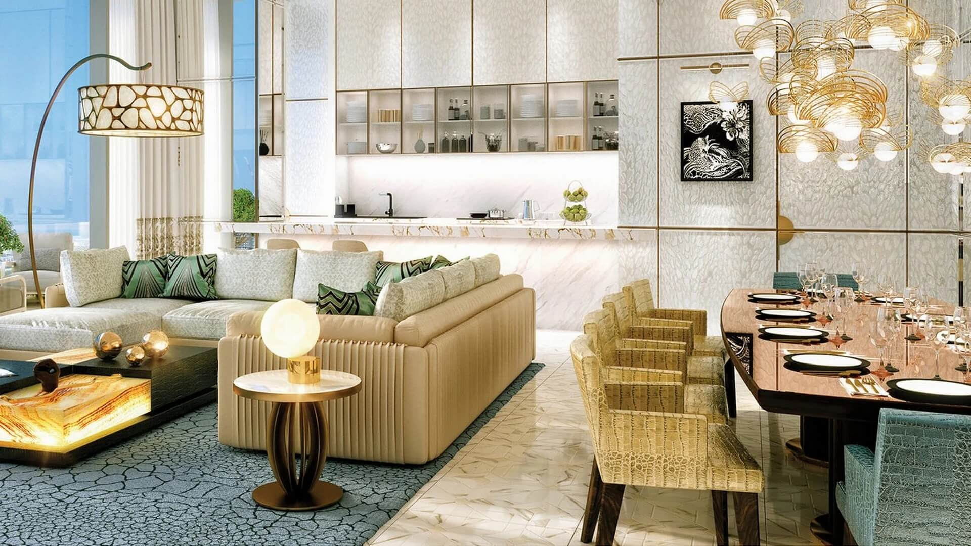 Apartamento en venta en Dubai, EAU, 1 dormitorio, 81 m2, № 24569 – foto 4