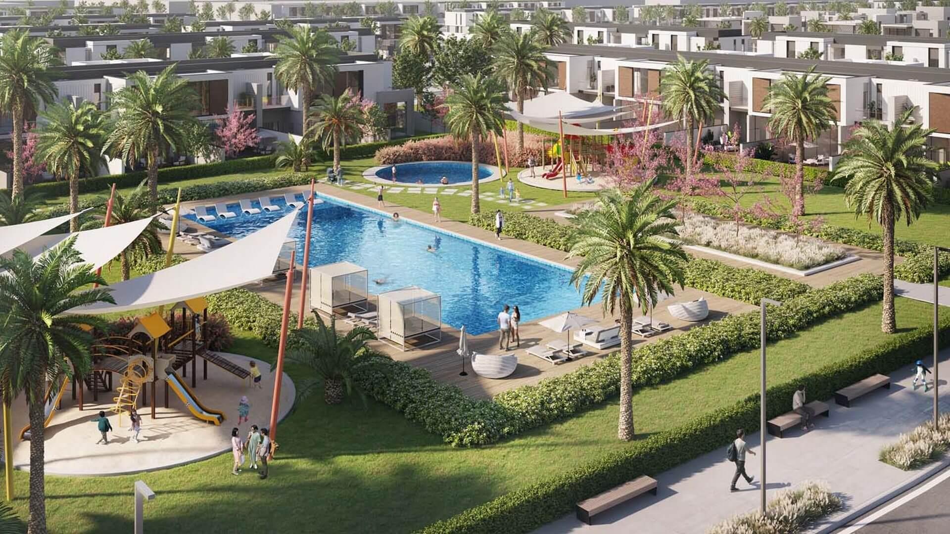 MUROOJ TOWNHOUSES, Al Furjan, Dubai, EAU – foto 1