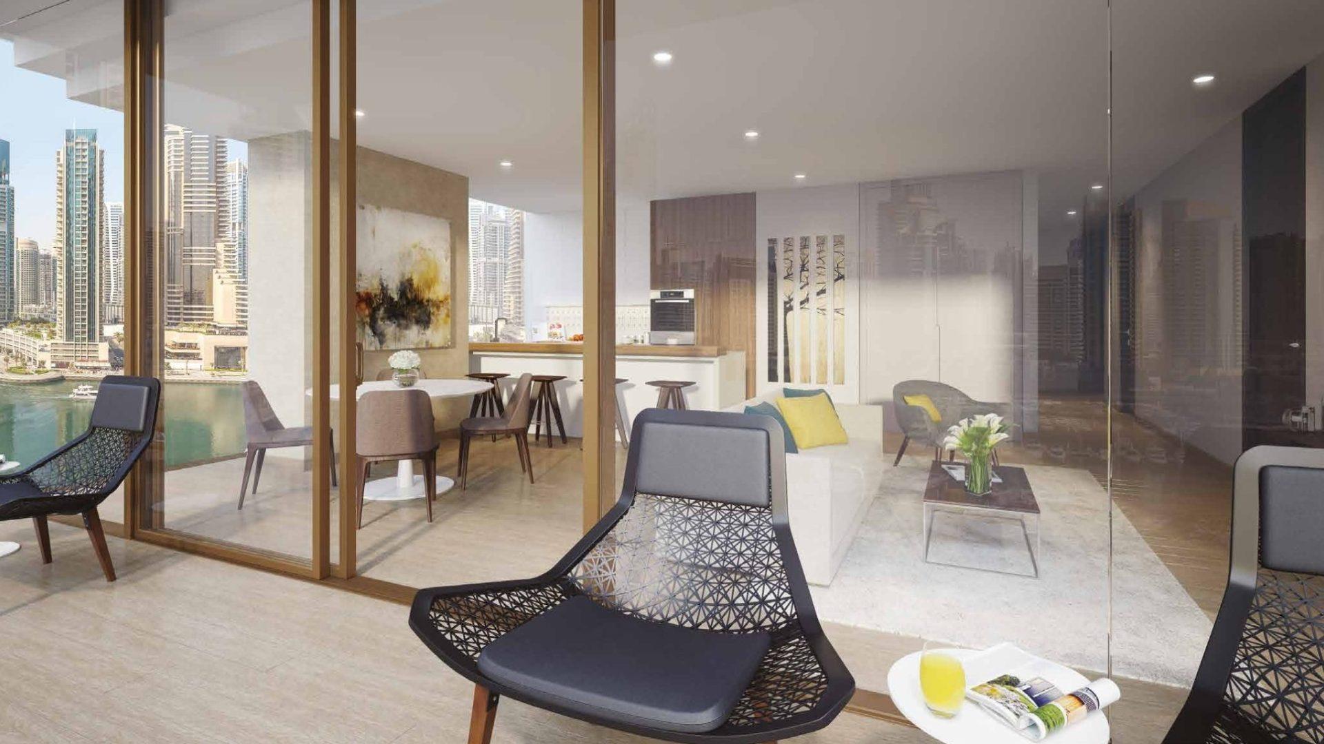 Apartamento en venta en Dubai, EAU, 1 dormitorio, 91 m2, № 24368 – foto 3