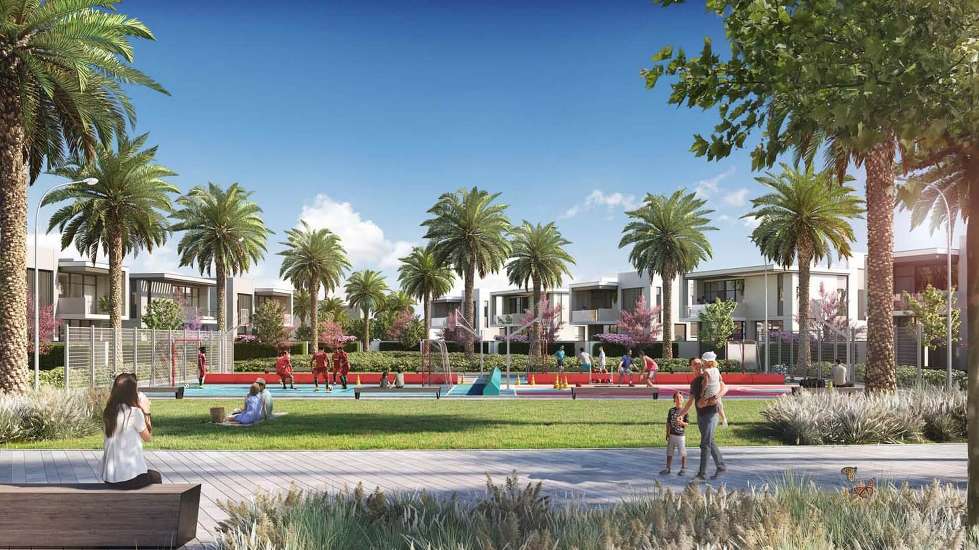 MUROOJ TOWNHOUSES, Al Furjan, Dubai, EAU – foto 3