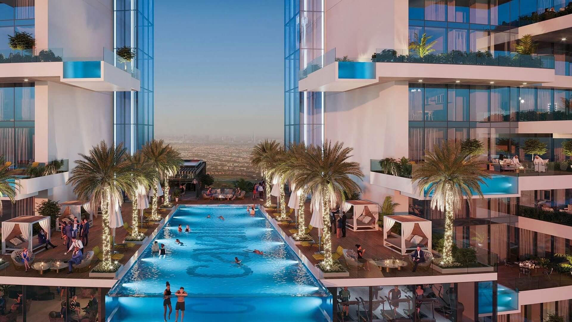 Apartamento en venta en Dubai, EAU, 1 dormitorio, 81 m2, № 24569 – foto 6