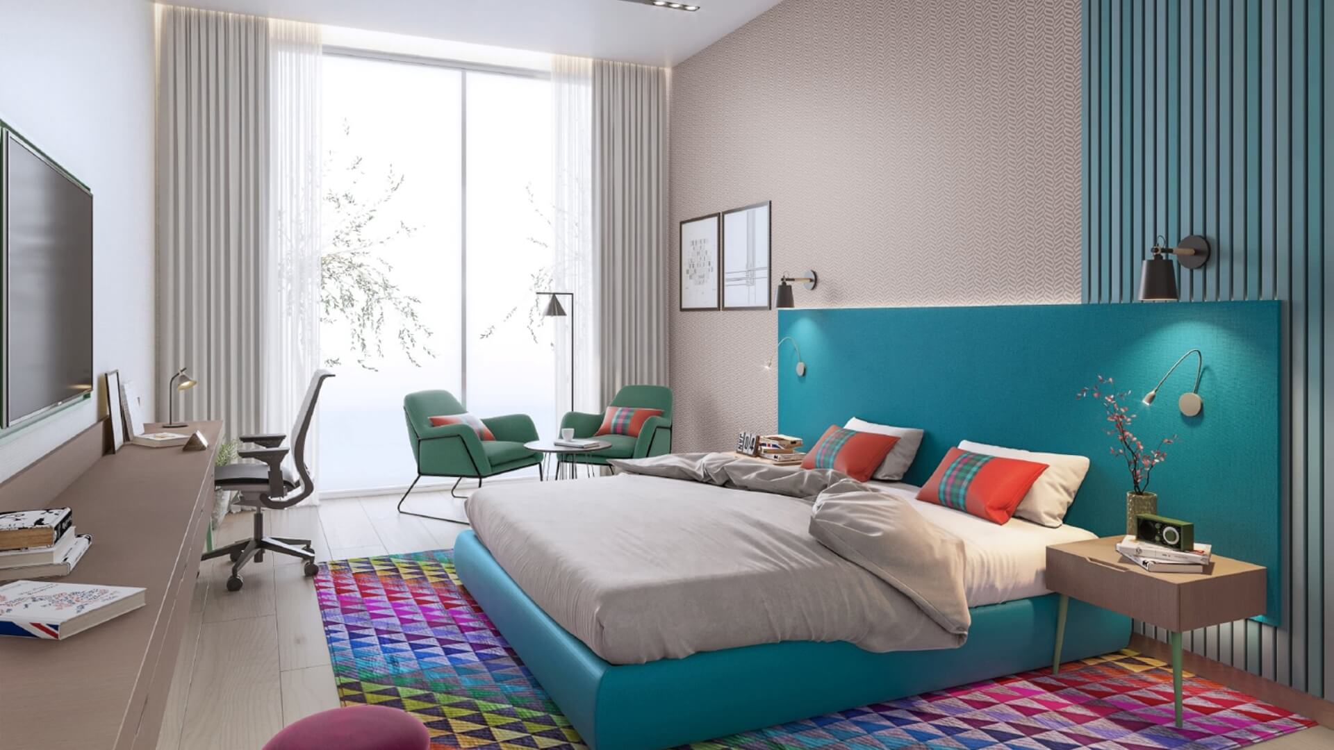 Villa en venta en Dubai, EAU, 2 dormitorios, 165 m2, № 24322 – foto 1