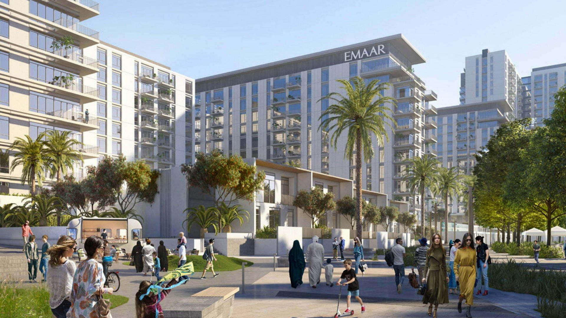 EXECUTIVE RESIDENCES, Dubai Hills Estate, EAU – foto 1