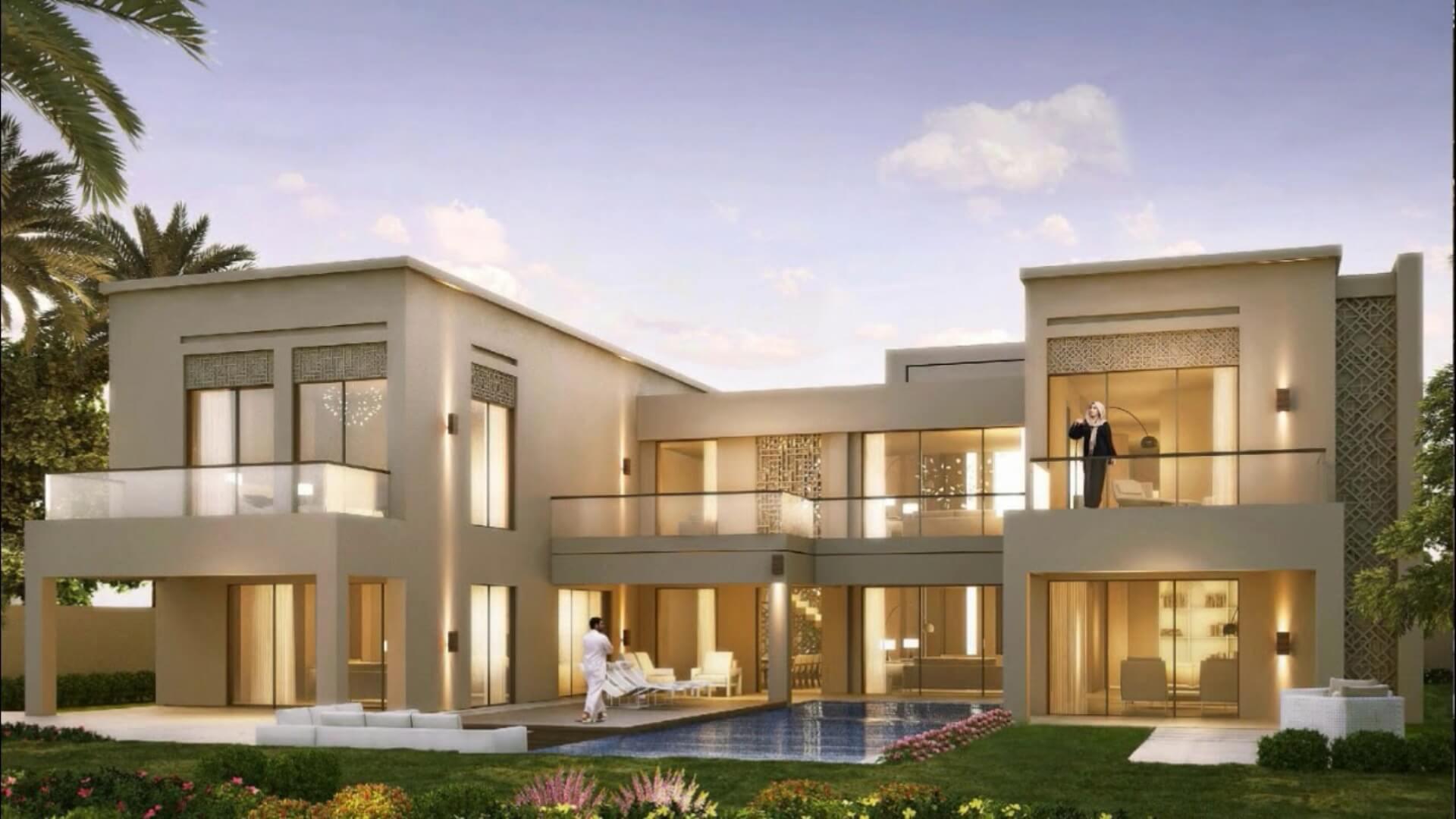 Villa en venta en Dubai, EAU, 6 dormitorios, 1208 m2, № 24640 – foto 1