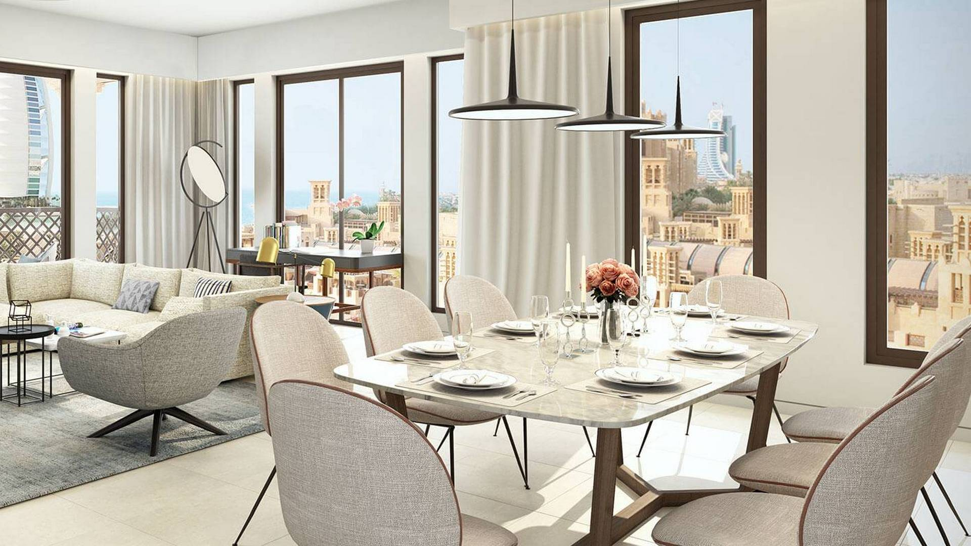 Apartment for sale in Dubai, UAE, 4 bedrooms, 279 m2, No. 23897 – photo 1