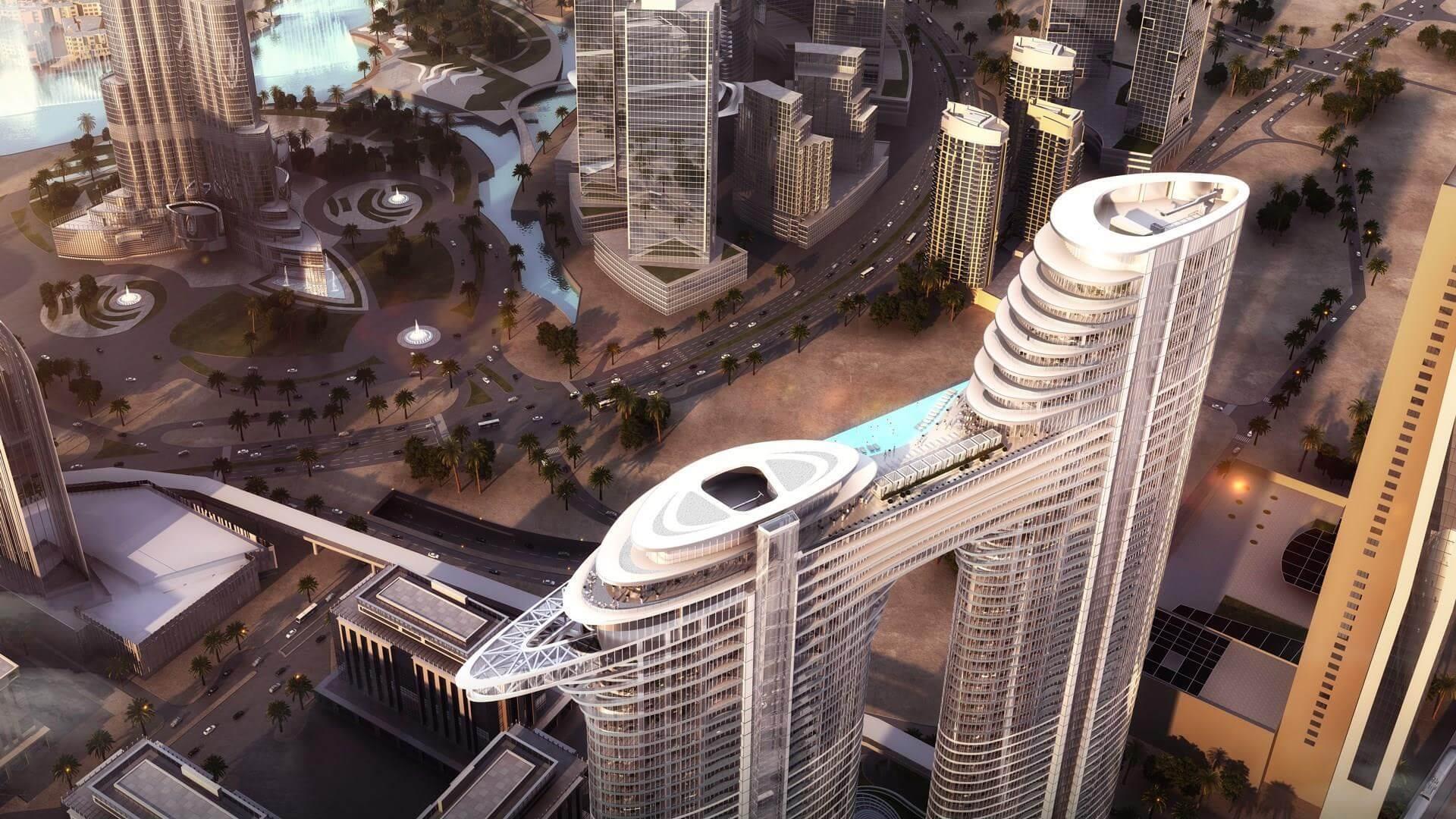 Apartment for sale in Dubai, UAE, 1 bedroom, 107 m2, No. 24079 – photo 4