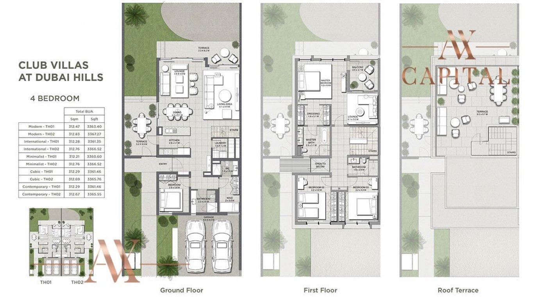 Villa for sale in Dubai, UAE, 4 bedrooms, 312.4 m2, No. 23736 – photo 2