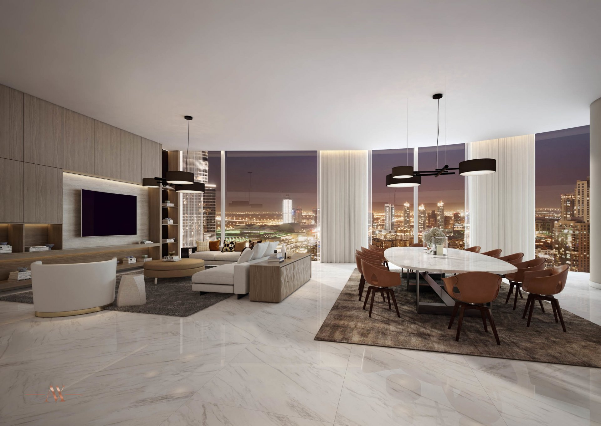 Apartment for sale in Dubai, UAE, 4 bedrooms, 500.1 m2, No. 23670 – photo 8