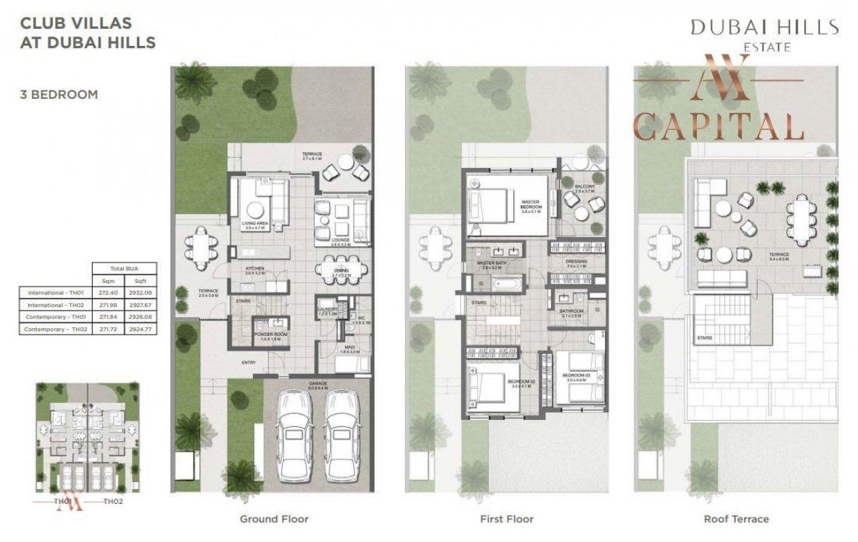 Villa for sale in Dubai, UAE, 3 bedrooms, 272.4 m2, No. 23561 – photo 2