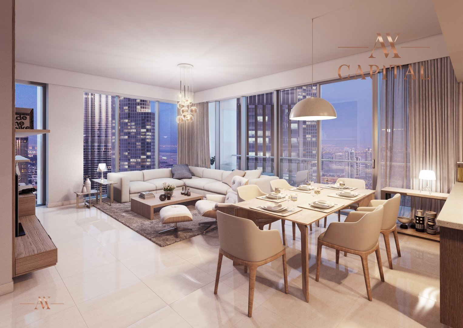 Apartment for sale in Dubai, UAE, 2 bedrooms, 102.1 m2, No. 23504 – photo 1