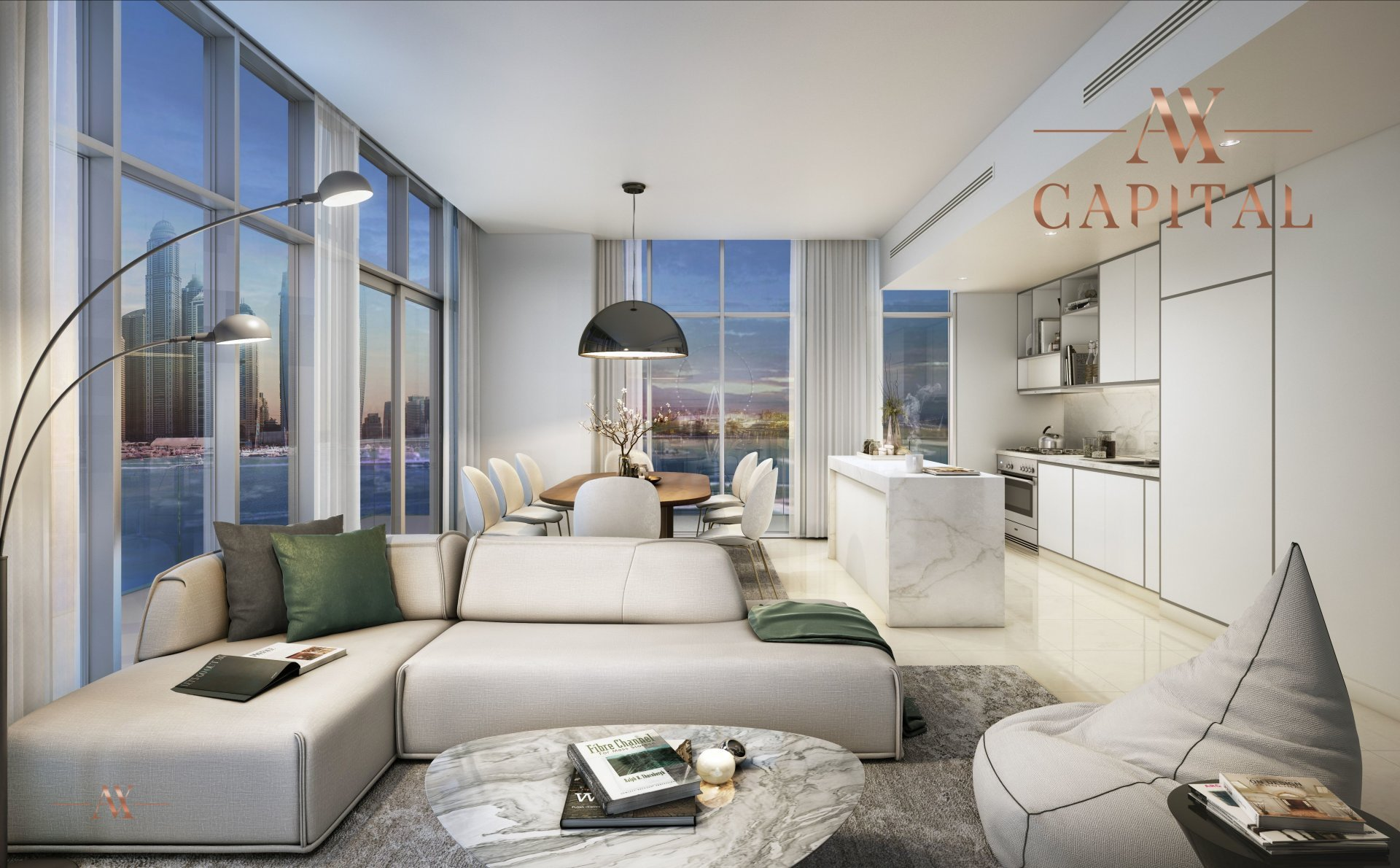 Apartment for sale in Dubai, UAE, 3 bedrooms, 183.9 m2, No. 23543 – photo 4